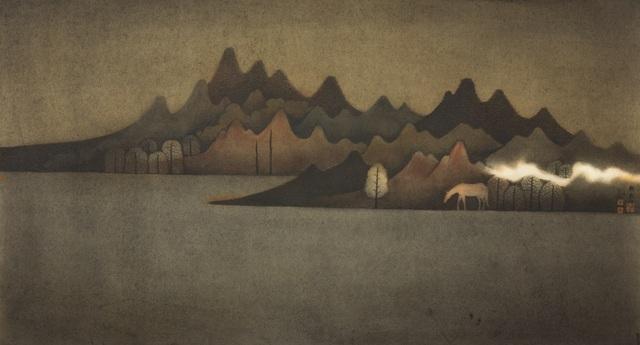 Hong Tao Huang 黄红涛, 'Nameless Hills Series 3 - Across the Waters', 2018, White Space Art Asia