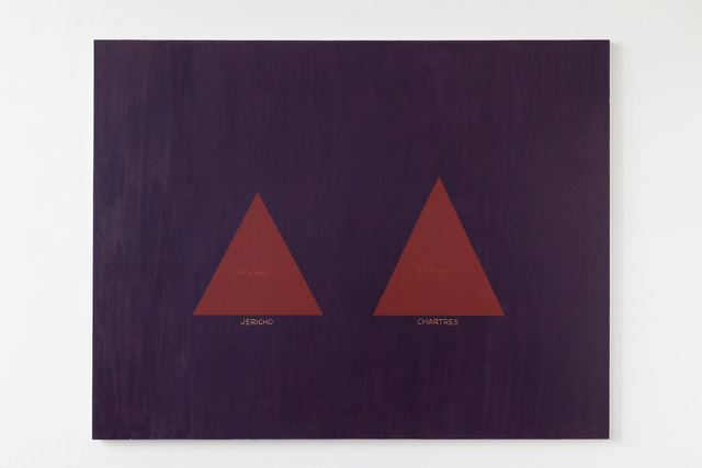 , 'Barnett Newman His Triangle Paintings,' 2011, Office Baroque