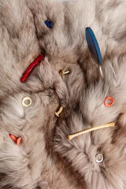 , 'Fur Constellation,' 2014, Antoine Levi