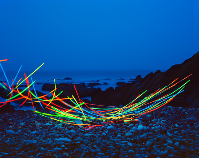 , 'Glow Necklaces II,' 2014, CYNTHIA-REEVES