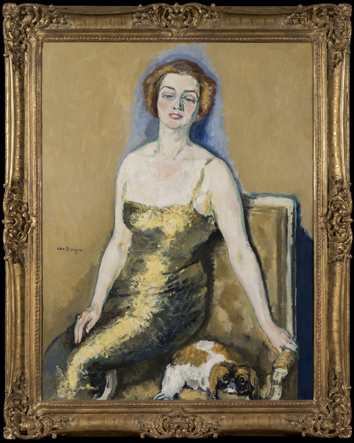 Kees van Dongen, 'Portrait de Madame Van Der Velde', Executed circa 1920-1923, Stern Pissarro