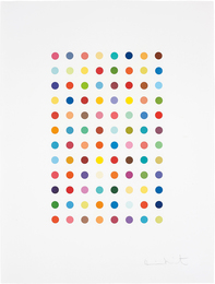 Damien Hirst, 'Xylene Cyanol Dye Solution,' 2005, Phillips: Evening and Day Editions