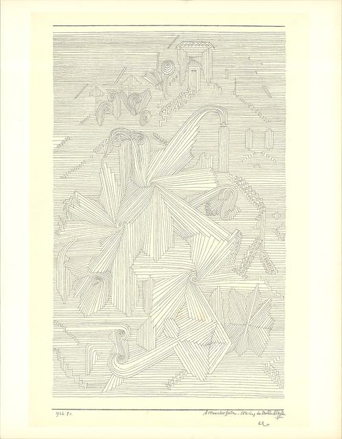 Paul Klee, 'Botanical Garden, Palmate Plants', 1946, Print, Lithograph, ArtWise