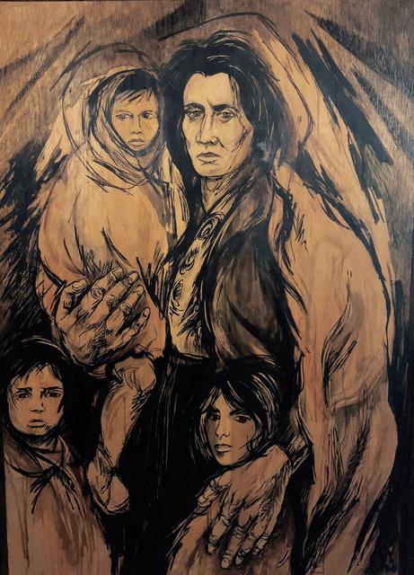, 'The Survivors,' 1977, Machamux