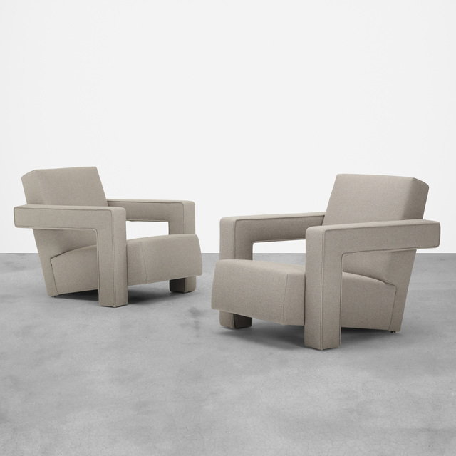 Metz & Co., 'lounge chairs, pair', c. 1960, Wright