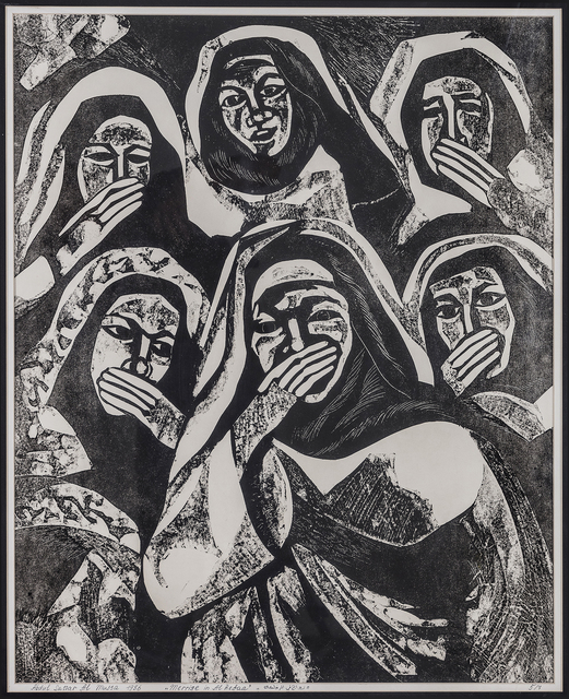 , 'Lawaleesh (Marriage in Al Refaa Series),' 1986, Hafez Gallery