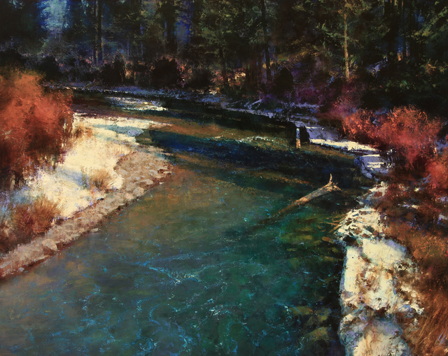 , 'MARCH ON THE UPPER BLACKFOOT,' 2016, Trailside Galleries