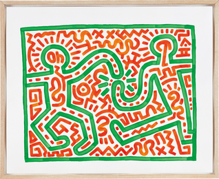 Keith Haring, 'Untitled,' 1983, Phillips: 20th Century & Contemporary Art & Design Evening Sale