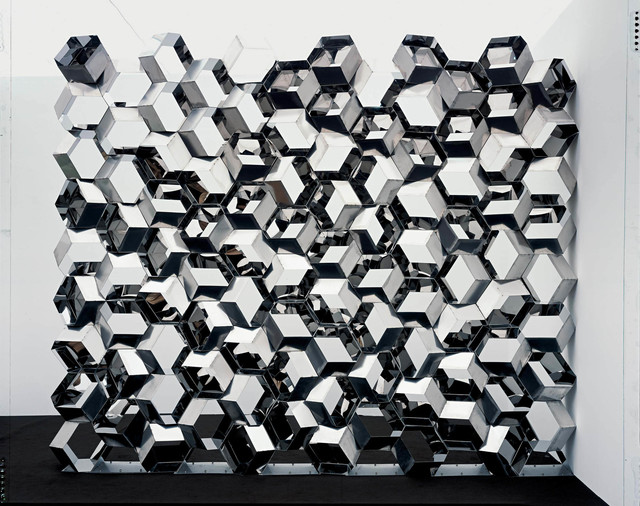 , 'Negative quasi brick wall,' 2003, Langen Foundation
