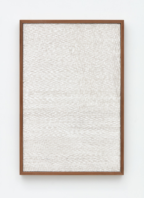 , 'Untitled (Etched Plaster),' 2015, Jason Haam