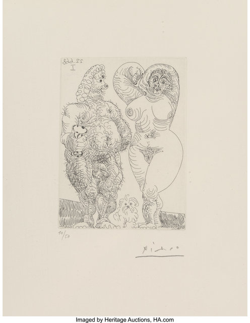 Pablo Picasso, 'Pl. 178, from Series 347', 1968, Heritage Auctions