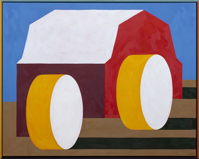 , 'Two Bales,' 2018, PUBLIC Gallery