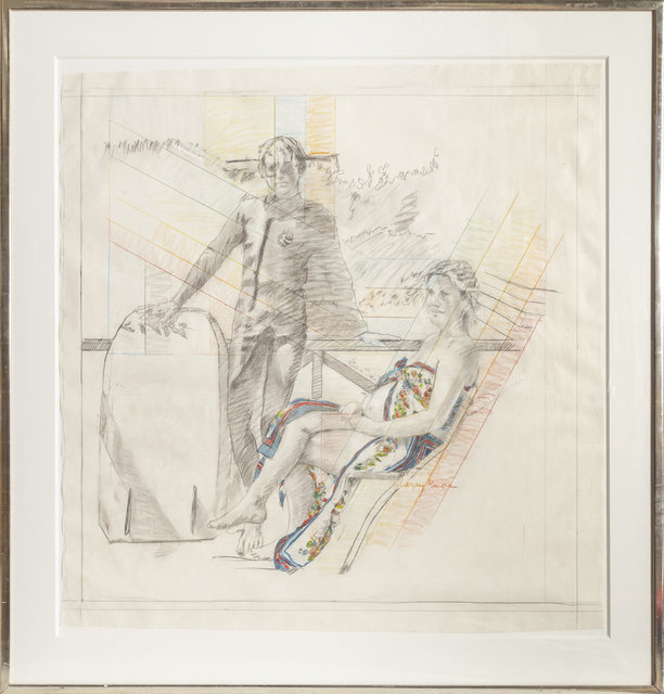 Larry Rivers, 'Summer Pregnancy Drawing', 1977, RoGallery