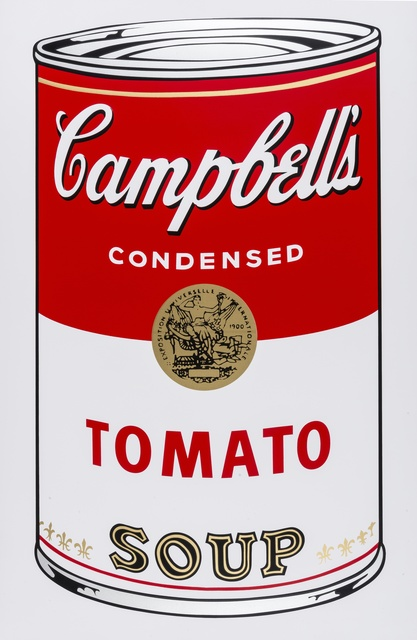 Andy Warhol, 'Campbell's Soup I (Sunday B. Morning)', Forum Auctions