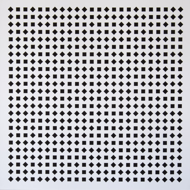 , 'Carrés en deux positions 1,' 2013, Atelier-Editions Fanal