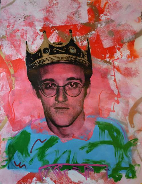 Skyler Grey, 'King Haring Blue Shirt', 2014, Avant Gallery