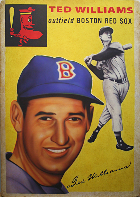 , '1954 Topps Ted Williams,' 2017, Axiom Contemporary