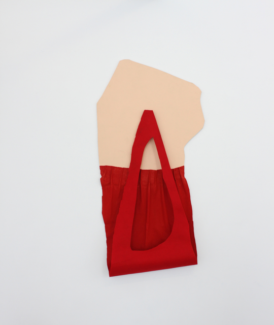 , 'Red on Beige,' 2013, di Rosa