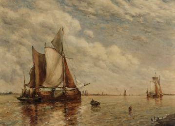Shipping in an Estuary