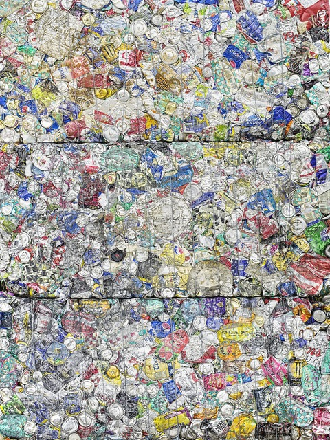 , 'Recycled Aluminum Can Study #1, 2015,' 2015, Monroe Gallery of Photography