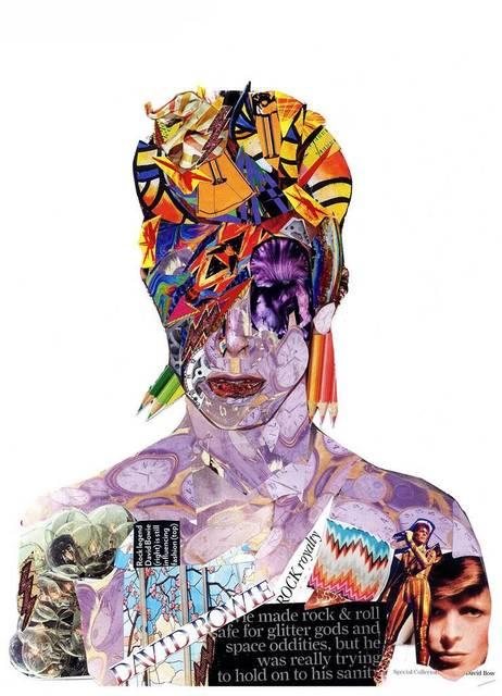 , 'David Bowie 3,' 2016, Agora Gallery