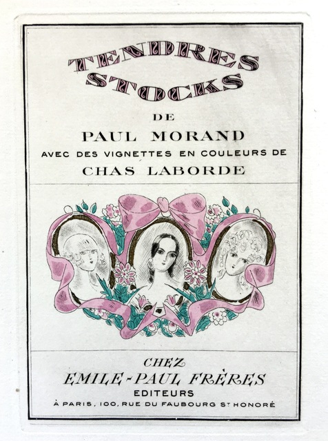 , 'Tendres Stocks: The Complete Etchings,' 1924, Harris Schrank Fine Prints
