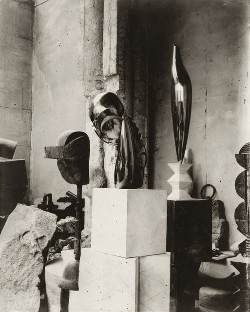 , 'View of the studio: Plato, Mademoiselle Pogany II, and Golden Bird,' ca. 1920, Gagosian