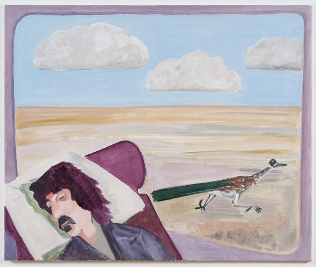 , 'Frank Zappa (roadrunner),' 2019, Luhring Augustine