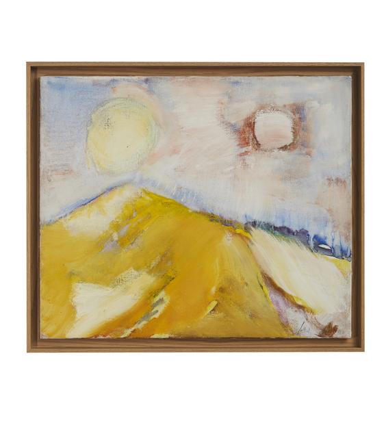 Etel Adnan, 'La Montagne Liban', 1972, Barjeel Art Foundation