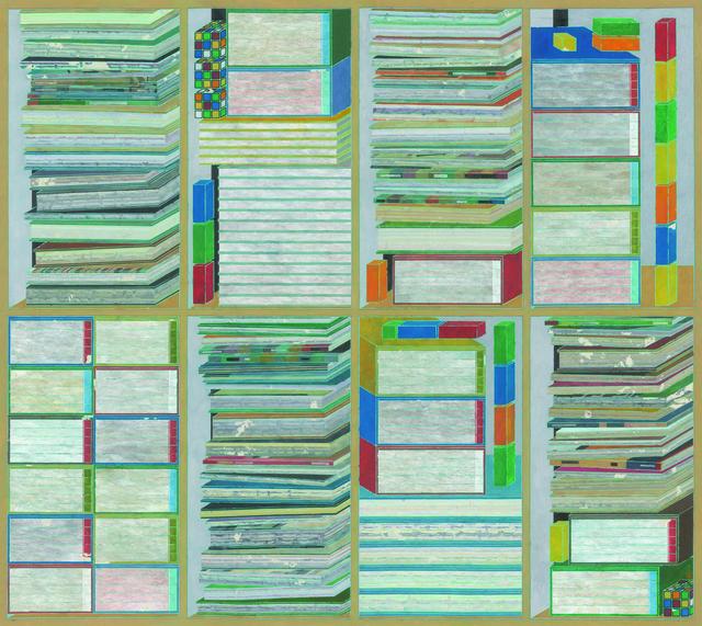 , 'Composition 奇局 ,' 2017, Galerie Ora-Ora