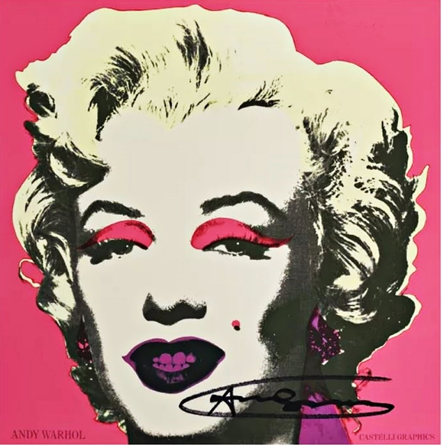 , 'Marilyn Monroe, Castelli Graphics Invitation, Leo Castelli Gallery Invite (Hand Signed),' 1981, Alpha 137 Gallery