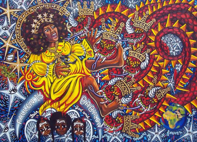 , 'Cachita-Ochun and the Dragon,' 2011, LAUNCH LA
