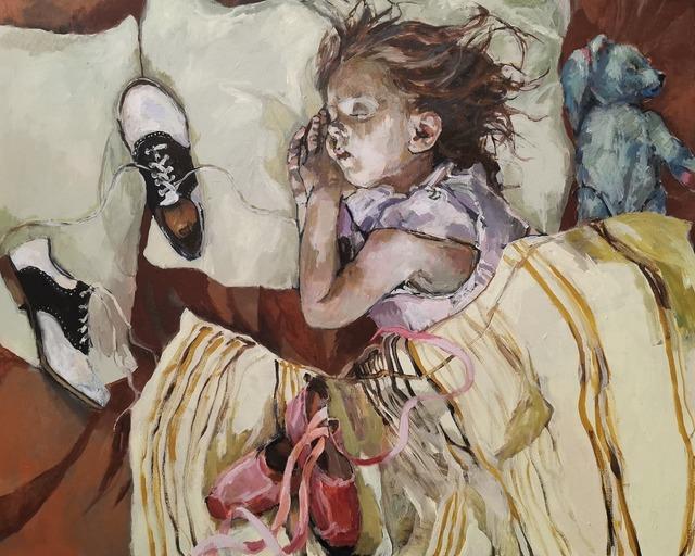 "Ingebjorg Stoyva, '""Big Shoes""', 2021, Painting, Acrylic on canvas, GALLERI RAMFJORD"
