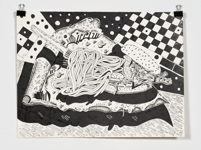 , 'Dinner #6,' 2017, Mana Contemporary