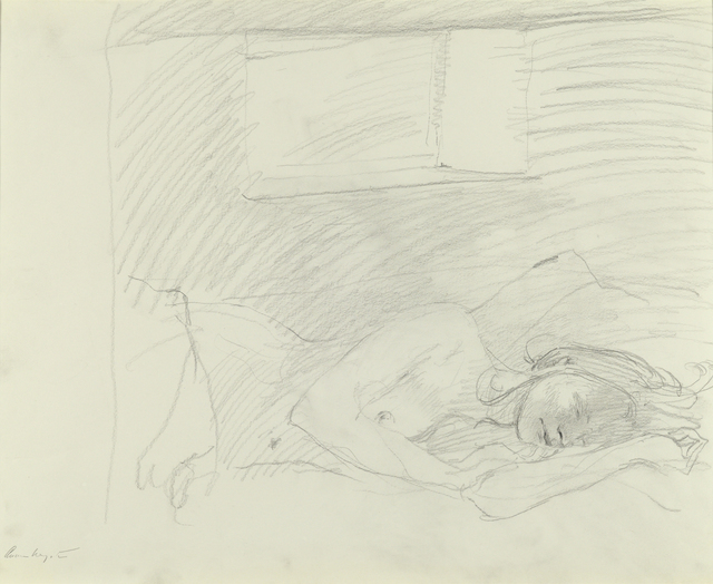 Andrew Wyeth, 'Asleep Study', 1976, Adelson Galleries