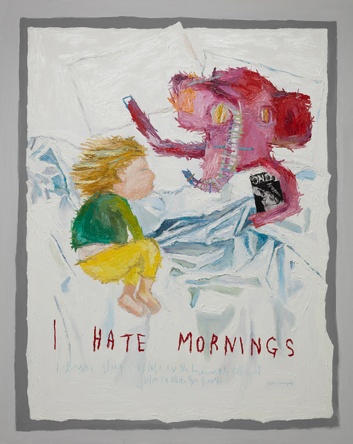 , 'I Hate Morning,' 2017, Gallery BK