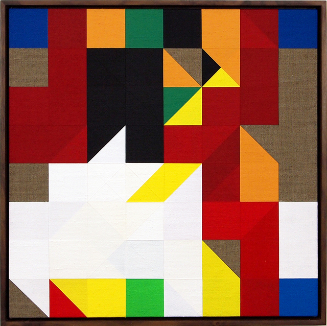 , 'Chess Painting No. 59 (Duchamp vs. Steiner, Paris 1924),' 2015, Francis M. Naumann Fine Art