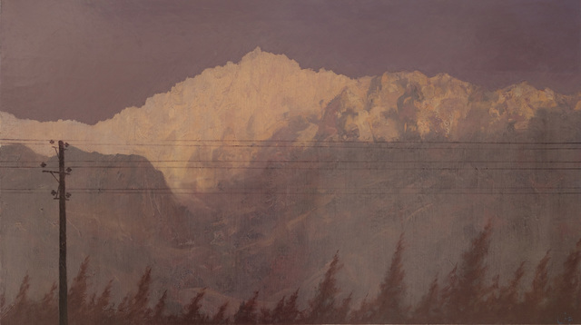 , 'Power lines through Fasham,' 2013, Galerie Huit