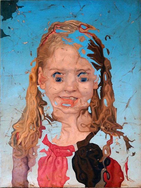 , 'Portrait of a Girl 1,' 2018, Elizabeth Houston Gallery