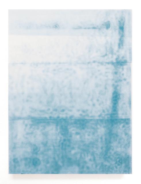 , 'Cyan 3,' 2017, Walter Storms Galerie
