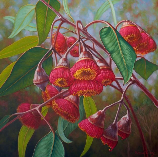 Fiona Craig, 'Gum Blossom I', 2014, Wentworth Galleries