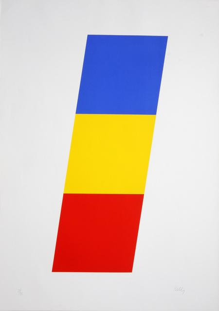 Ellsworth Kelly, 'Blue Yellow Red  ', 1970, Denis Bloch Fine Art
