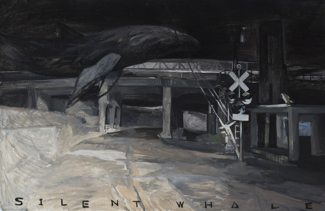 , 'SILENT WHALE,' 2017, Our Gallery