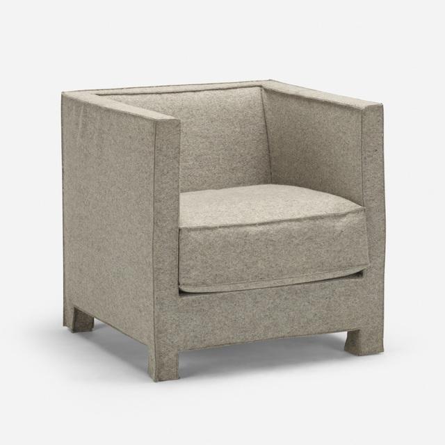 Reed and Delphine Krakoff, 'Prototype Felt armchair', 2014, Rago/Wright