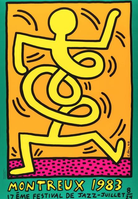 Keith Haring, 'Montreux 1983 (Prestel 9)', 1983, Artsnap
