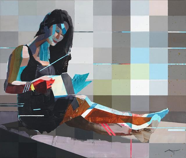 Michael Azgour, 'Jennifer Reading', 2019, Muriel Guépin Gallery