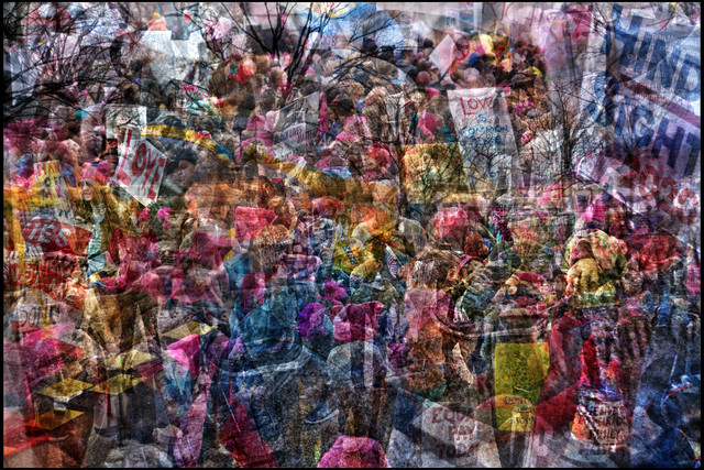 , 'Women's March on Washington,' 2017, Hosfelt Gallery