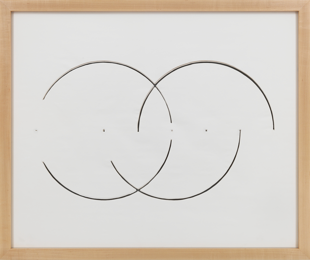 , 'Cut Drawing,' 1974, Galerie Thomas Schulte