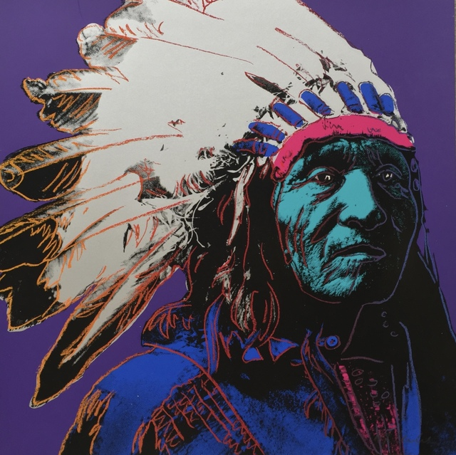 , 'Indian Chief ,' 1988, Joseph Fine Art