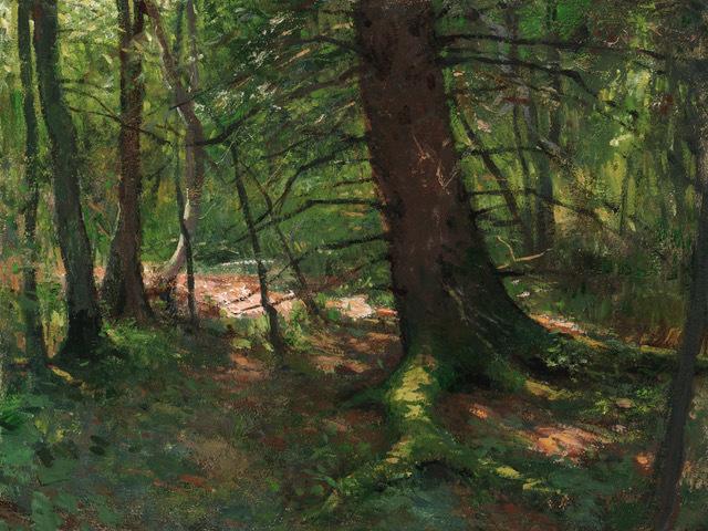 , 'Black Spruce,' 2018, Helena Fox Fine Art